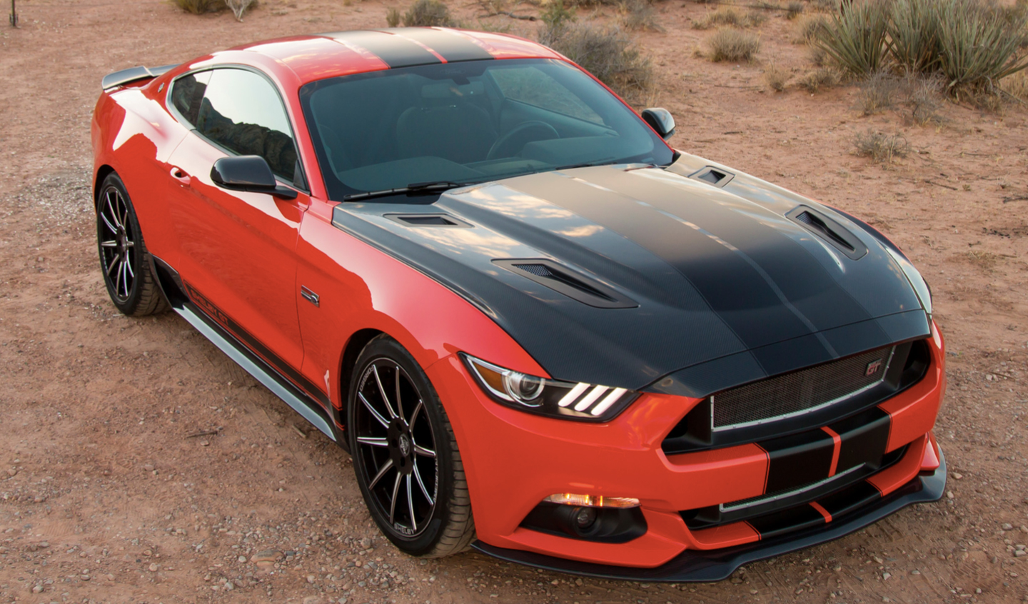 shelby tuning pack for ford mustang 2 3 ecoboost 335 hp. Black Bedroom Furniture Sets. Home Design Ideas