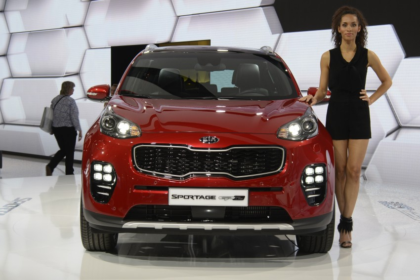 Frankfurt 2015: 2016 Kia Sportage unveiled in the flesh Image #381230