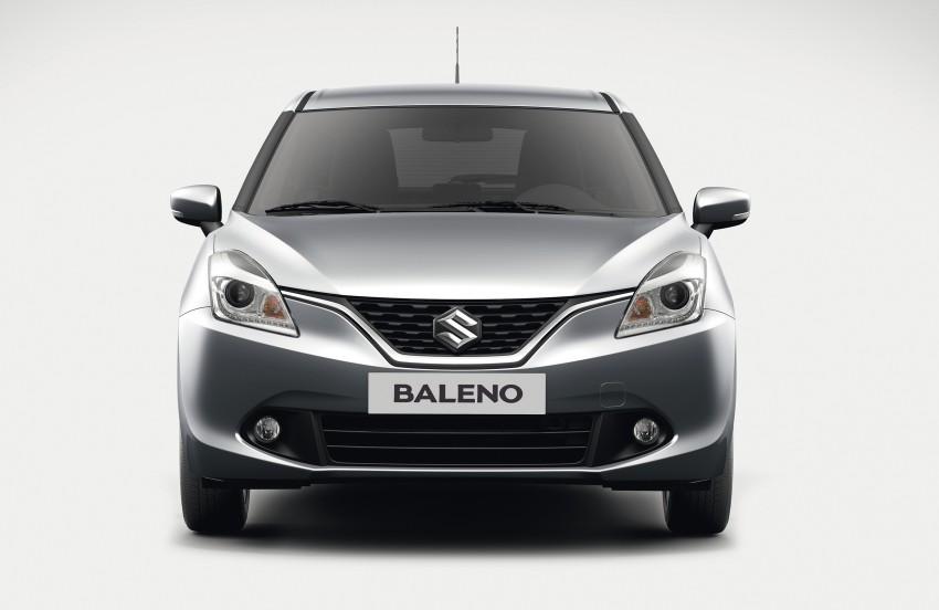 Suzuki unveils all-new Baleno, sales in Europe by 2016 Image #381859