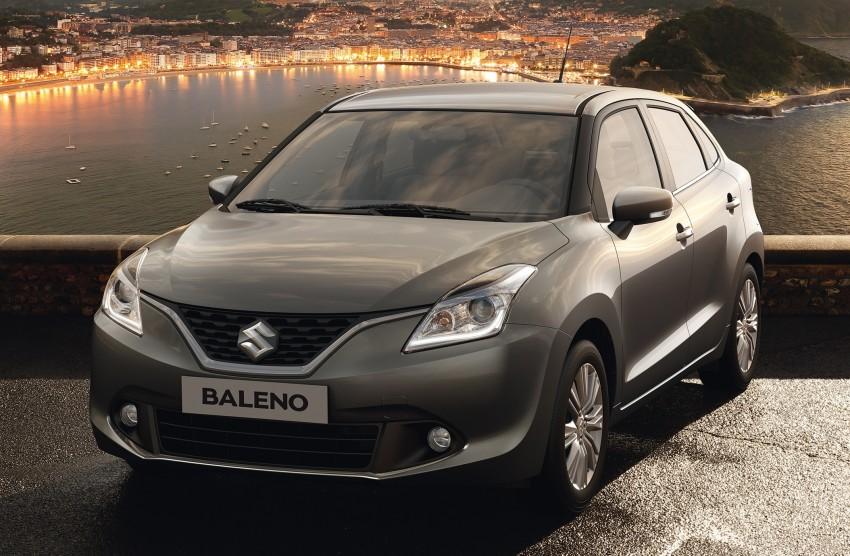 Suzuki unveils all-new Baleno, sales in Europe by 2016 Image #381852