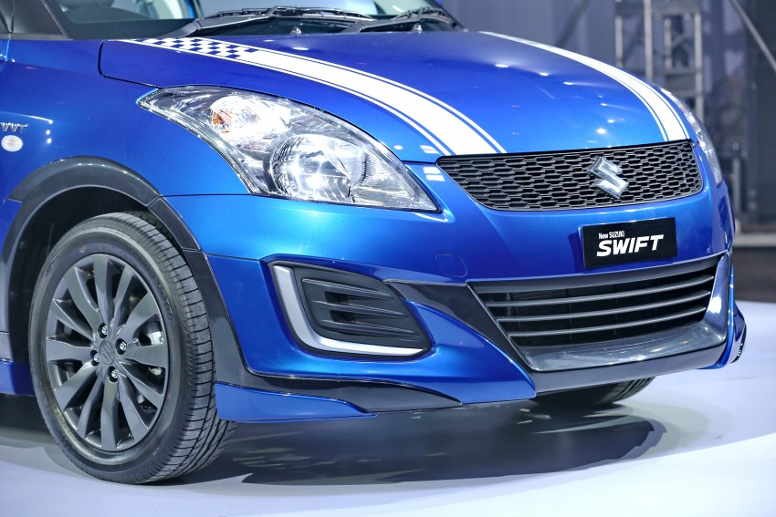 Suzuki Swift RR2 Limited Edition introduced, RM70k Image #376484