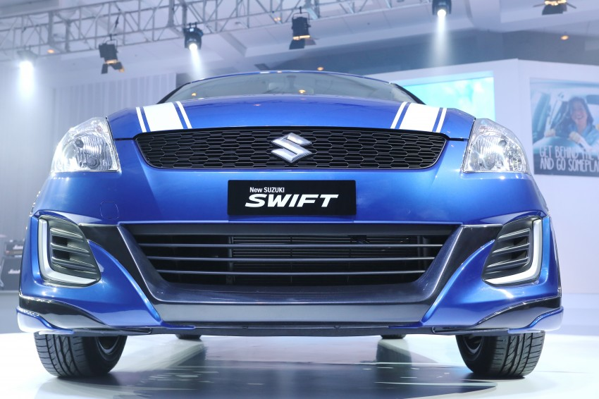 Suzuki Swift RR2 Limited Edition introduced, RM70k Image #376487