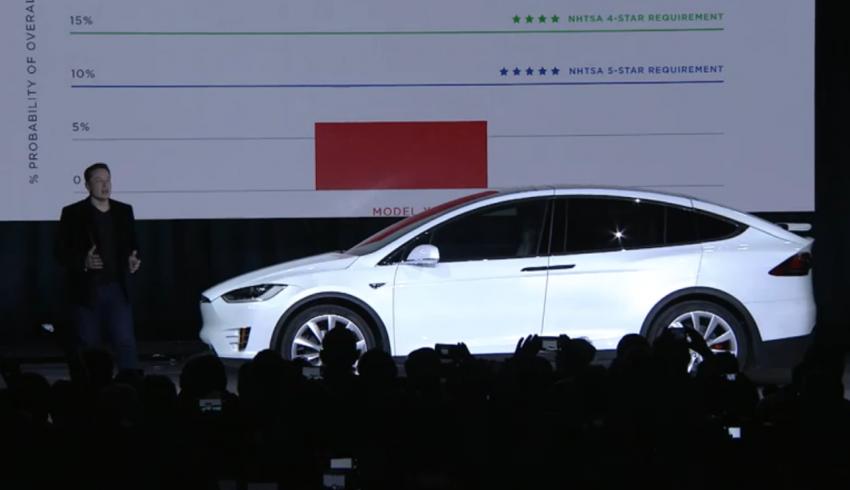 Tesla Model X finally debuts – three-row SUV detailed Image #385607