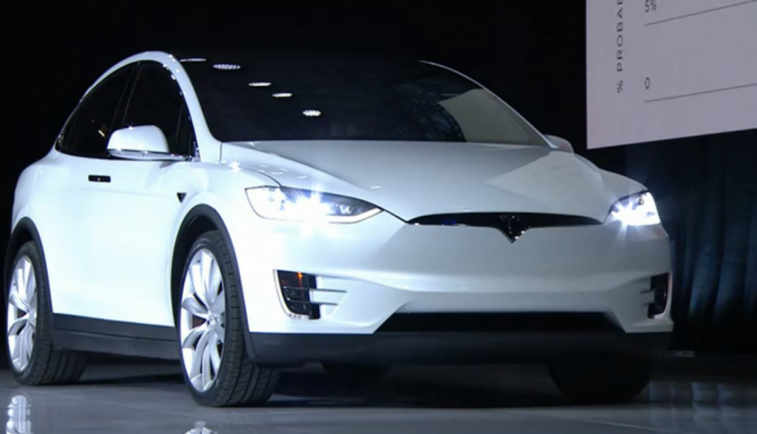 Tesla Model X finally debuts – three-row SUV detailed Image #385609