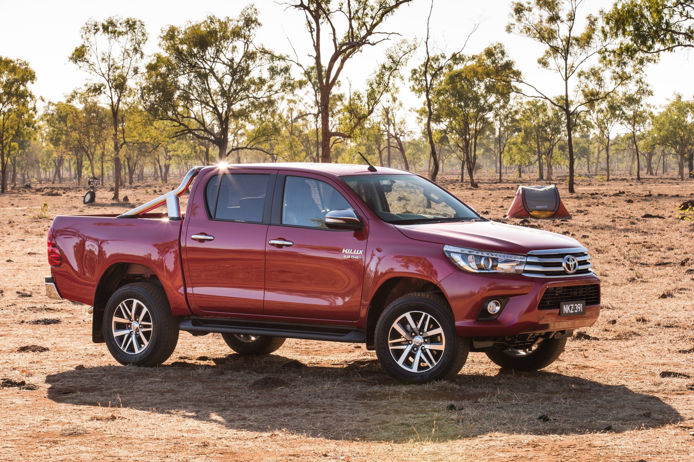 2016 Toyota Hilux Australian Specs Variants Detailed