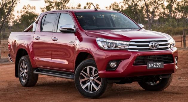 News » 2016 Toyota Hilux – Australian-specs, variants detailed