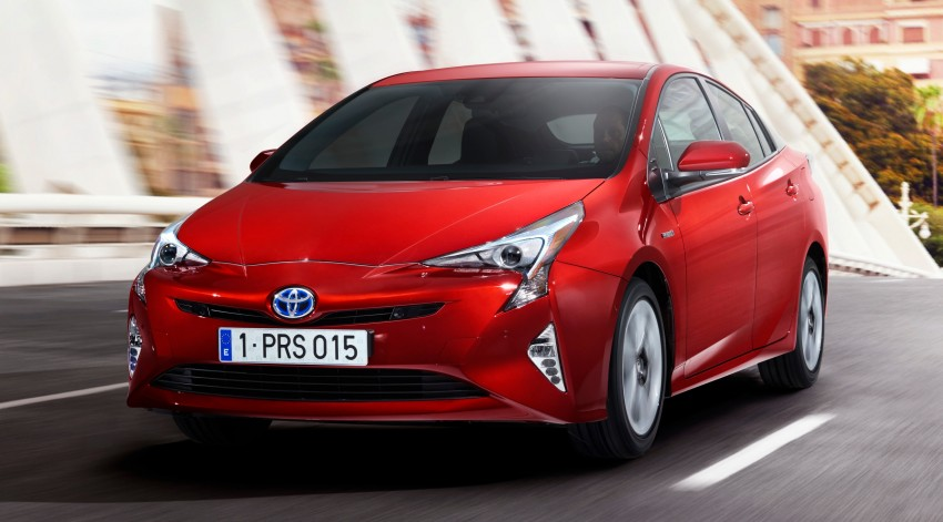 2016 Toyota Prius officially unveiled – 4th-gen hybrid promises improved fuel economy, ride and handling Image #377681