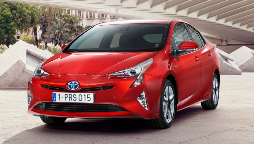 2016 Toyota Prius officially unveiled – 4th-gen hybrid promises improved fuel economy, ride and handling Image #377682