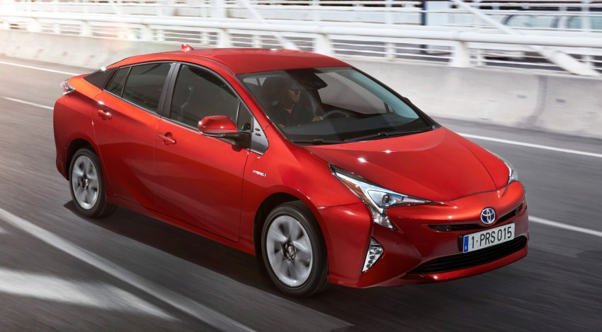 2016 Toyota Prius officially unveiled – 4th-gen hybrid promises improved fuel economy, ride and handling Image #377683
