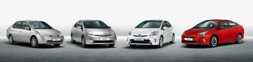 2016 Toyota Prius officially unveiled – 4th-gen hybrid promises improved fuel economy, ride and handling Image #377691