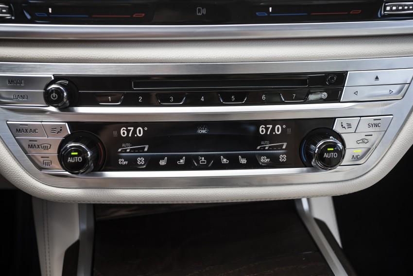 MEGA GALLERY: G11 BMW 7 Series in detail Image #391534