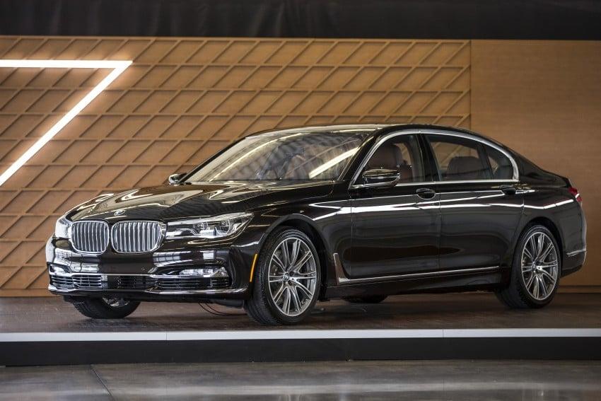 MEGA GALLERY: G11 BMW 7 Series in detail Image #391564