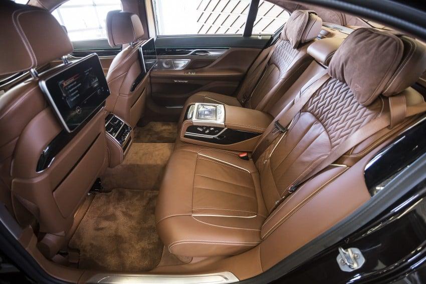 MEGA GALLERY: G11 BMW 7 Series in detail Image #391725