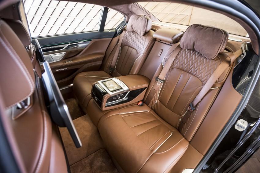MEGA GALLERY: G11 BMW 7 Series in detail Image #391726