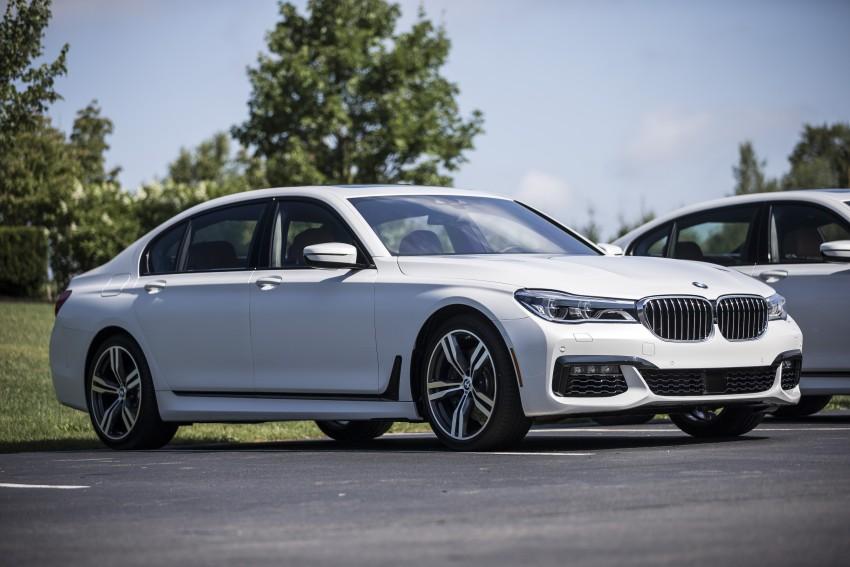 MEGA GALLERY: G11 BMW 7 Series in detail Image #391730