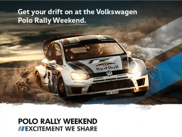 volkswagen polo rally