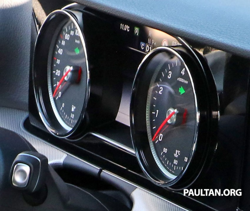 SPIED: W213 Mercedes-Benz E-Class interior seen completely undisguised for the first time! Image #385586