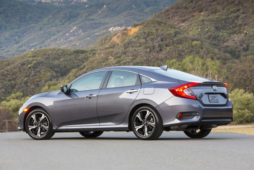2016 Honda Civic – full technical details on the 10th gen sedan, which benchmarks the 3 Series, C-Class Image #393997