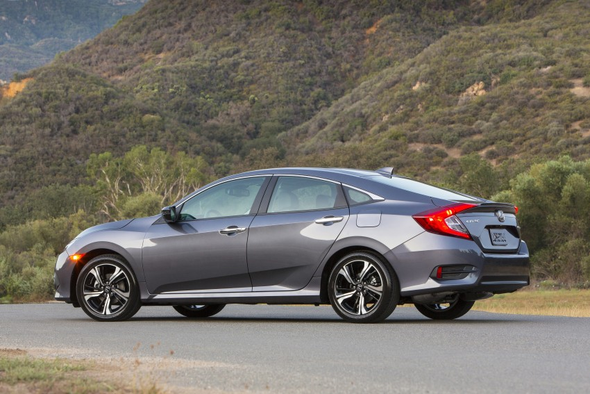 2016 Honda Civic – full technical details on the 10th gen sedan, which benchmarks the 3 Series, C-Class Image #393998