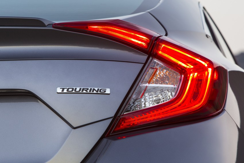 2016 Honda Civic – full technical details on the 10th gen sedan, which benchmarks the 3 Series, C-Class Image #394001