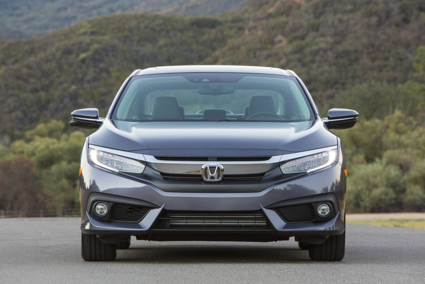 2016 Honda Civic – full technical details on the 10th gen sedan, which benchmarks the 3 Series, C-Class Image #394002