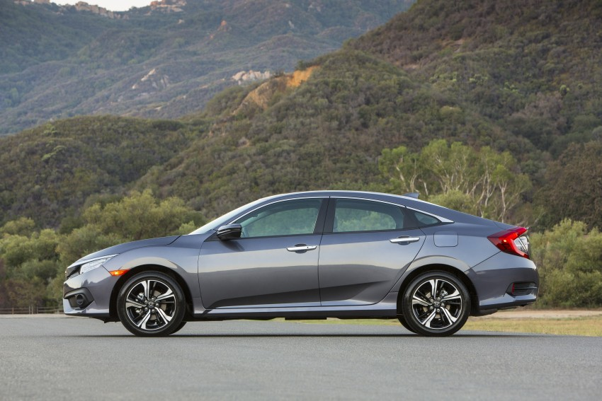 2016 Honda Civic – full technical details on the 10th gen sedan, which benchmarks the 3 Series, C-Class Image #394003