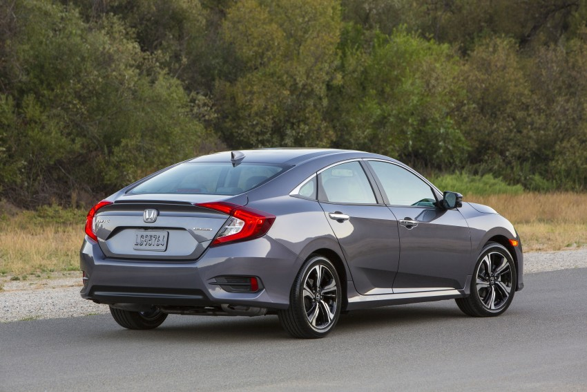 2016 Honda Civic – full technical details on the 10th gen sedan, which benchmarks the 3 Series, C-Class Image #394004