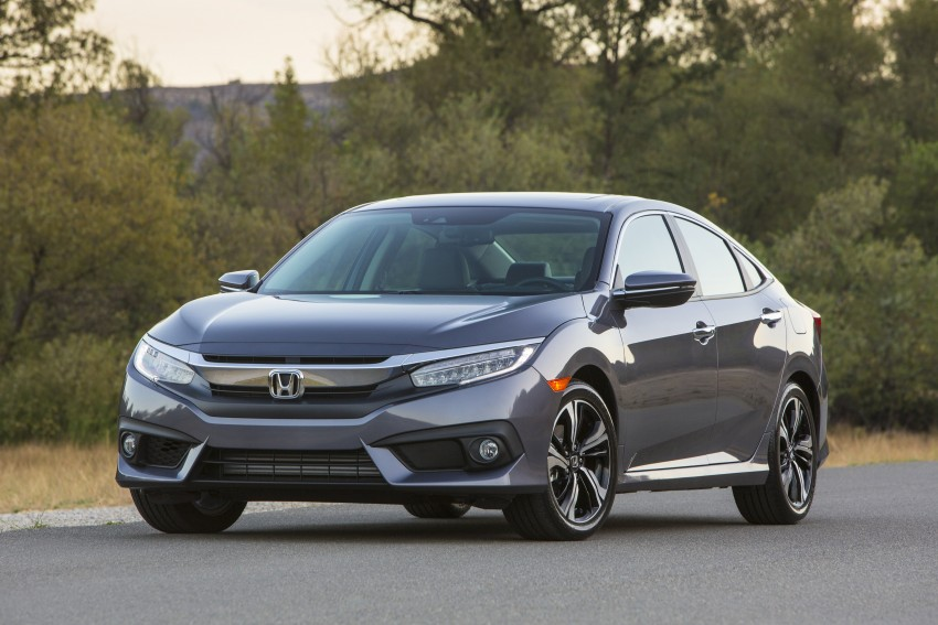 2016 Honda Civic – full technical details on the 10th gen sedan, which benchmarks the 3 Series, C-Class Image #394006