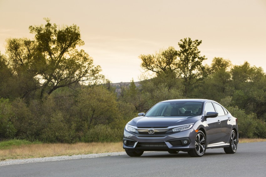 2016 Honda Civic – full technical details on the 10th gen sedan, which benchmarks the 3 Series, C-Class Image #394007