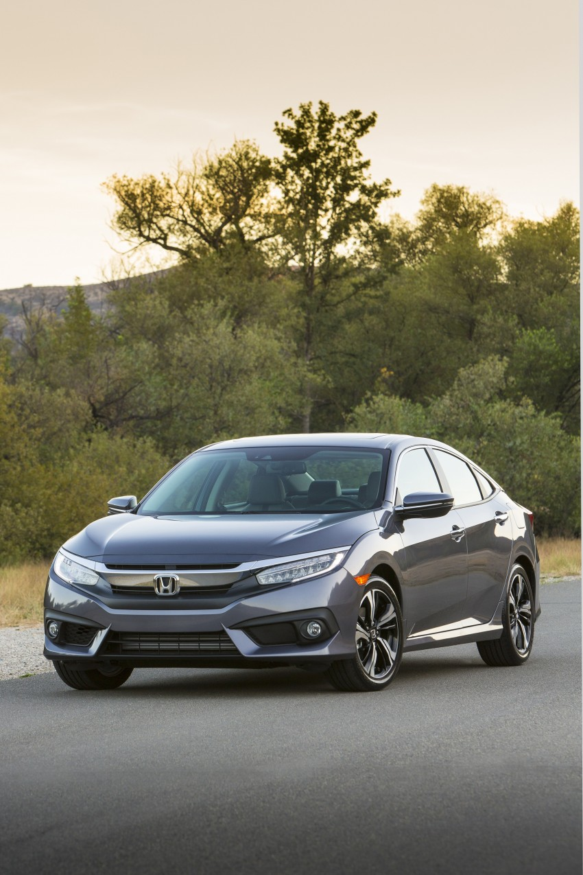 2016 Honda Civic – full technical details on the 10th gen sedan, which benchmarks the 3 Series, C-Class Image #394008