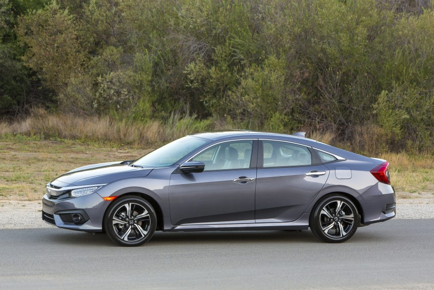 2016 Honda Civic – full technical details on the 10th gen sedan, which benchmarks the 3 Series, C-Class Image #394010