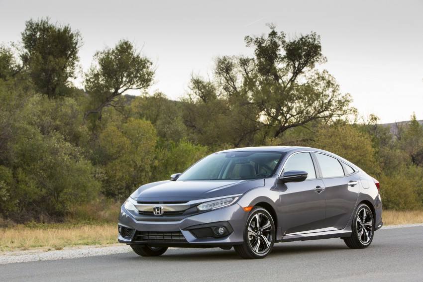 2016 Honda Civic – full technical details on the 10th gen sedan, which benchmarks the 3 Series, C-Class Image #394012