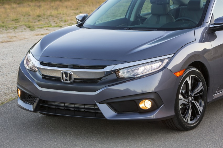 2016 Honda Civic – full technical details on the 10th gen sedan, which benchmarks the 3 Series, C-Class Image #394016