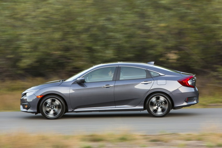 2016 Honda Civic – full technical details on the 10th gen sedan, which benchmarks the 3 Series, C-Class Image #394017