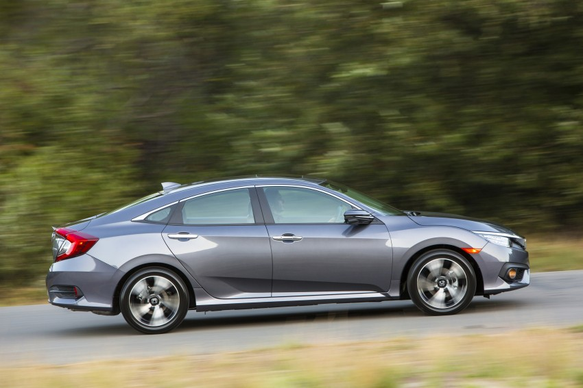 2016 Honda Civic – full technical details on the 10th gen sedan, which benchmarks the 3 Series, C-Class Image #394019
