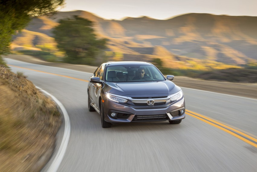 2016 Honda Civic – full technical details on the 10th gen sedan, which benchmarks the 3 Series, C-Class Image #394021