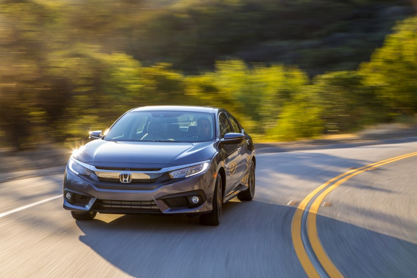 2016 Honda Civic – full technical details on the 10th gen sedan, which benchmarks the 3 Series, C-Class Image #394022