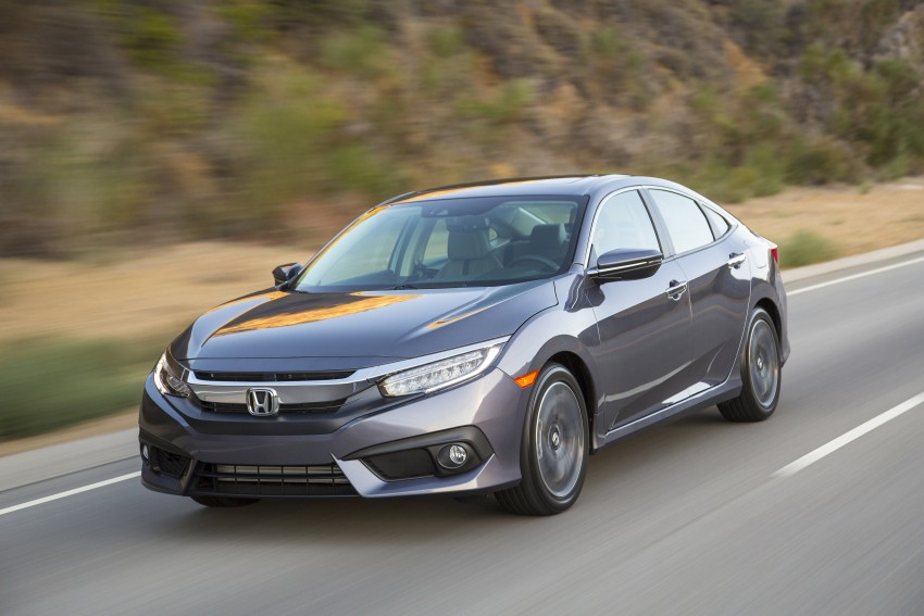 2016 Honda Civic – full technical details on the 10th gen sedan, which benchmarks the 3 Series, C-Class Image #394023
