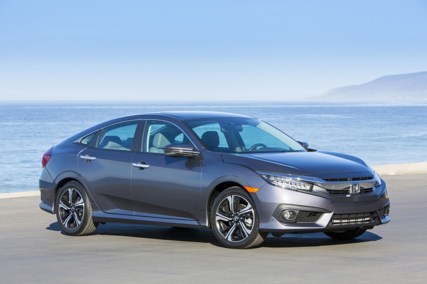 2016 Honda Civic – full technical details on the 10th gen sedan, which benchmarks the 3 Series, C-Class Image #394025