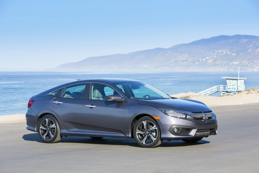 2016 Honda Civic – full technical details on the 10th gen sedan, which benchmarks the 3 Series, C-Class Image #394026
