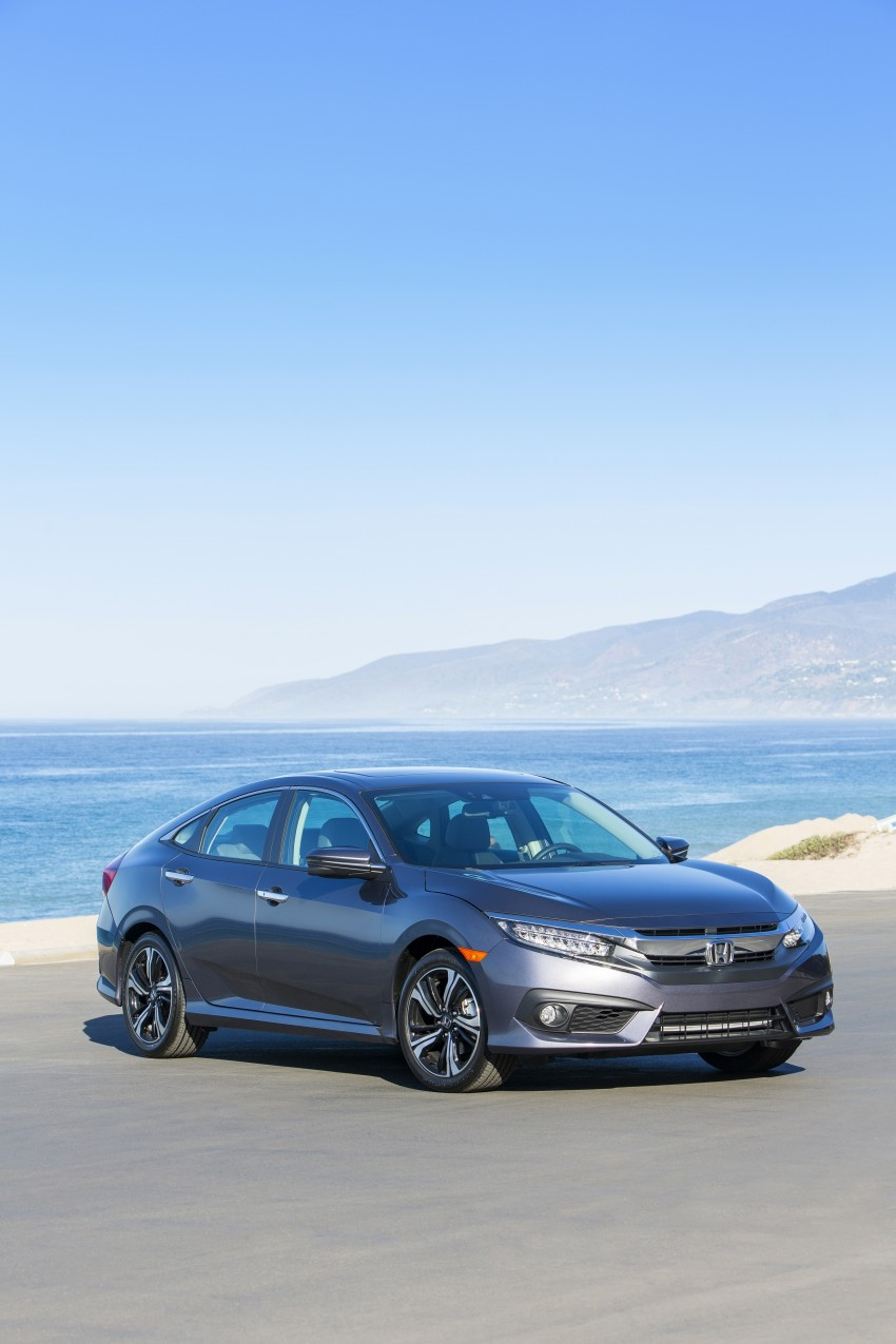2016 Honda Civic – full technical details on the 10th gen sedan, which benchmarks the 3 Series, C-Class Image #394027