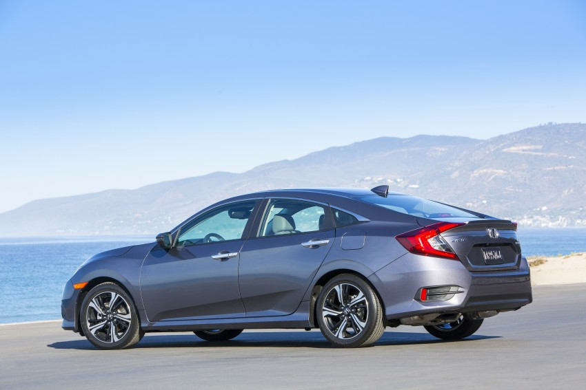 2016 Honda Civic – full technical details on the 10th gen sedan, which benchmarks the 3 Series, C-Class Image #394028