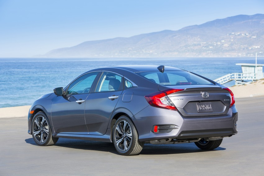 2016 Honda Civic – full technical details on the 10th gen sedan, which benchmarks the 3 Series, C-Class Image #394029