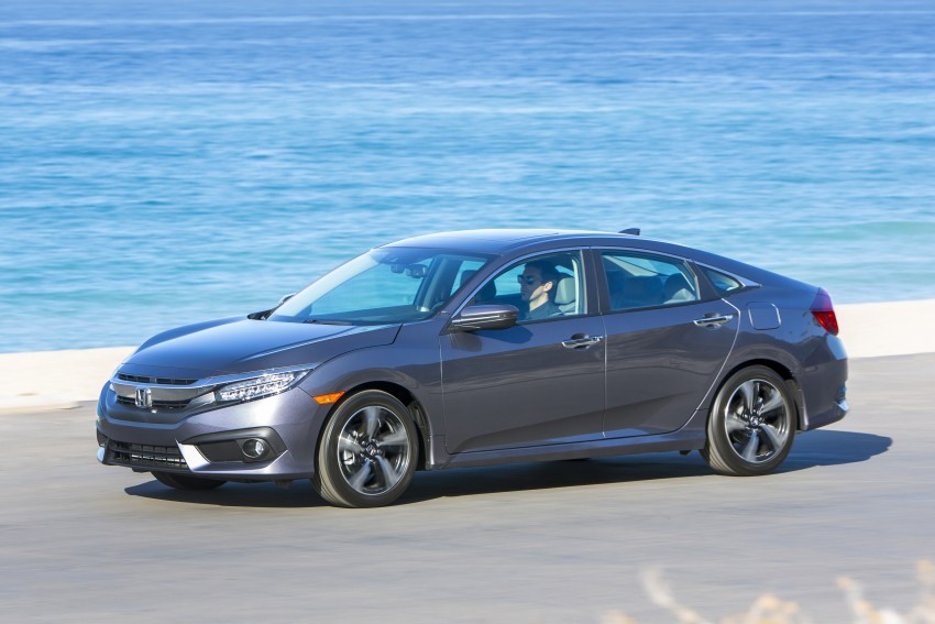 2016 Honda Civic – full technical details on the 10th gen sedan, which benchmarks the 3 Series, C-Class Image #394030