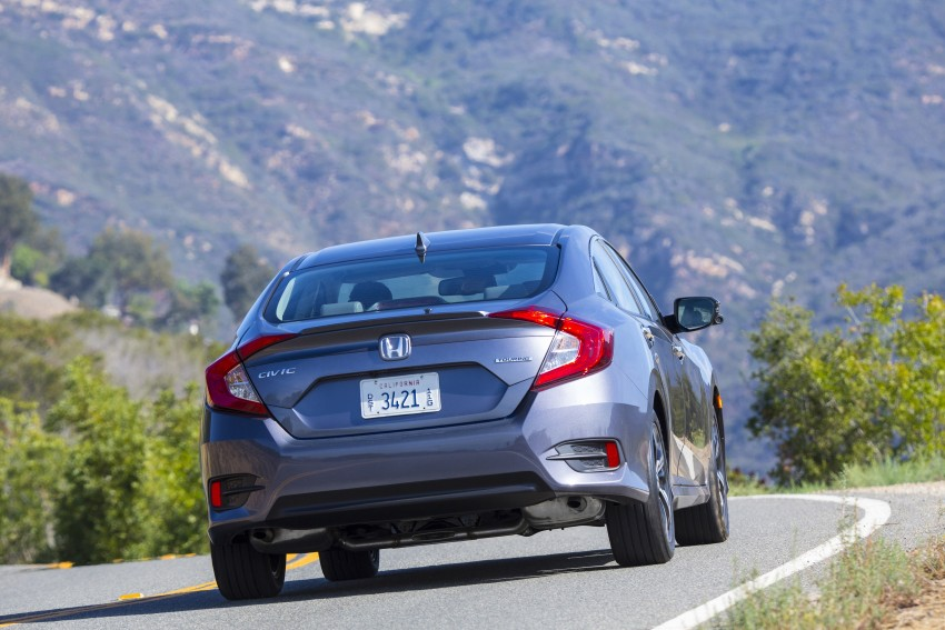 2016 Honda Civic – full technical details on the 10th gen sedan, which benchmarks the 3 Series, C-Class Image #394031