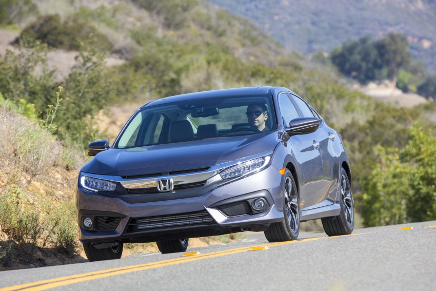 2016 Honda Civic – full technical details on the 10th gen sedan, which benchmarks the 3 Series, C-Class Image #394032