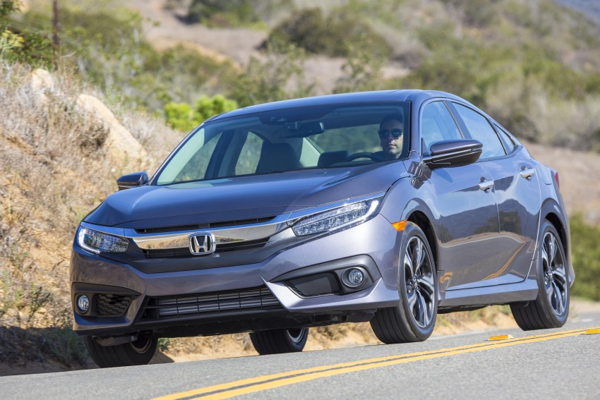 2016 Honda Civic – full technical details on the 10th gen sedan, which benchmarks the 3 Series, C-Class Image #394033