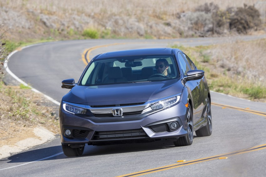 2016 Honda Civic – full technical details on the 10th gen sedan, which benchmarks the 3 Series, C-Class Image #394035
