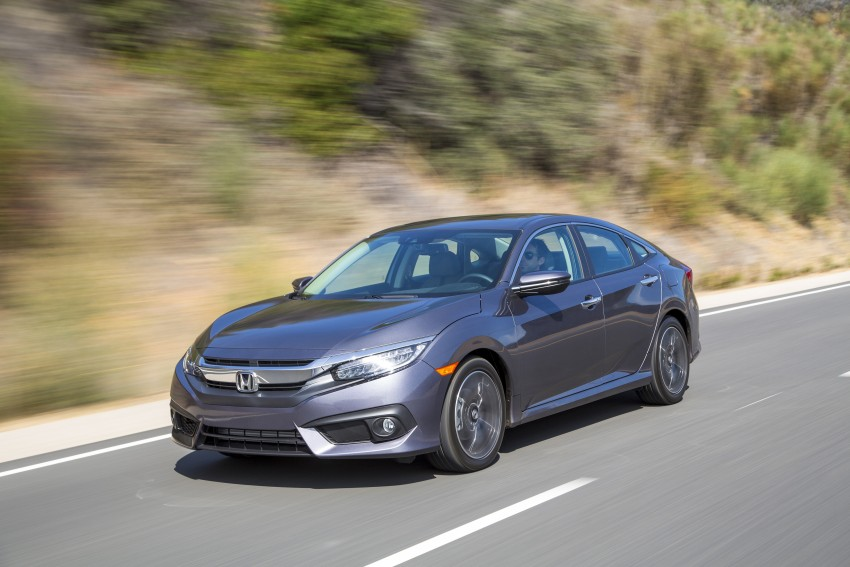 2016 Honda Civic – full technical details on the 10th gen sedan, which benchmarks the 3 Series, C-Class Image #394036