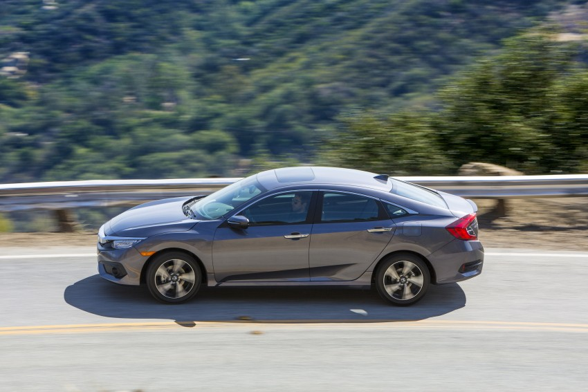 2016 Honda Civic – full technical details on the 10th gen sedan, which benchmarks the 3 Series, C-Class Image #394037